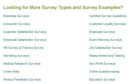 Survey Examples