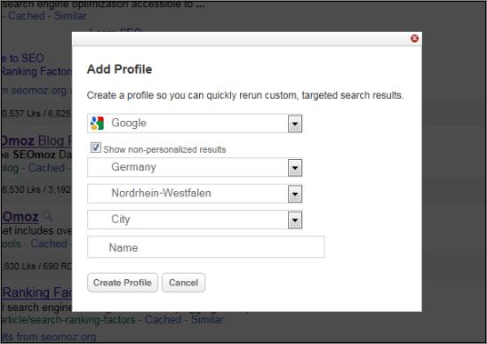 AddSearchProfile