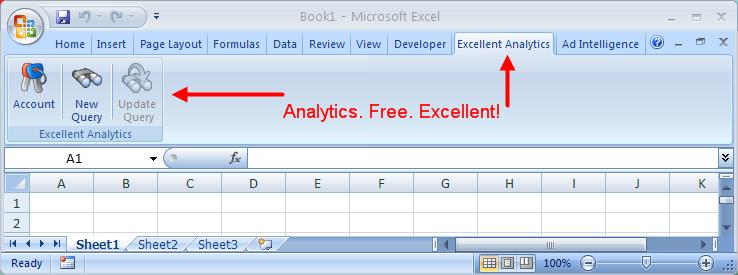 Excllent Analytics in Excel