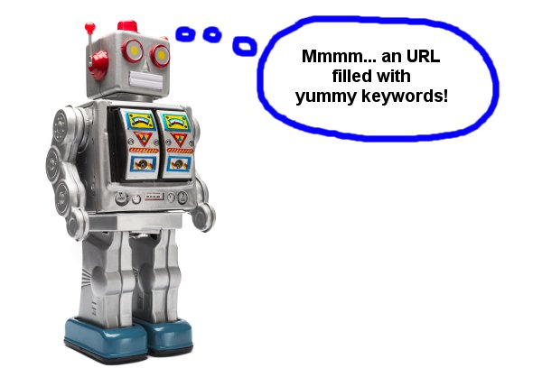Googlebot dreaming of yummy keywords in URLs