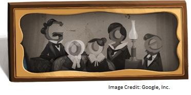 Google Louis Daguerre Doodle