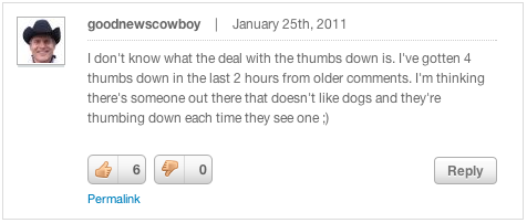 Good News Cowboy Comments