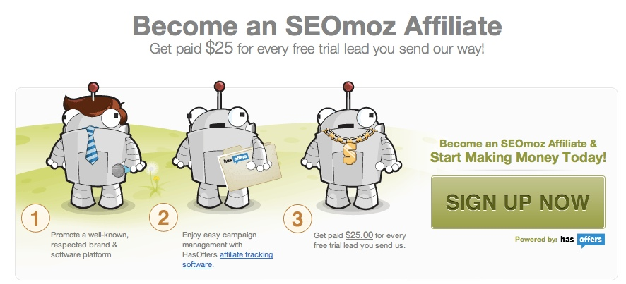 SEOmoz Banner Affiliate Program
