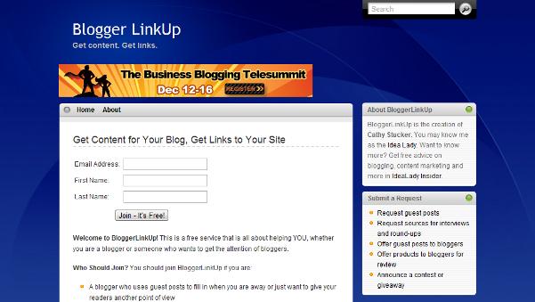 Blogger Link Up