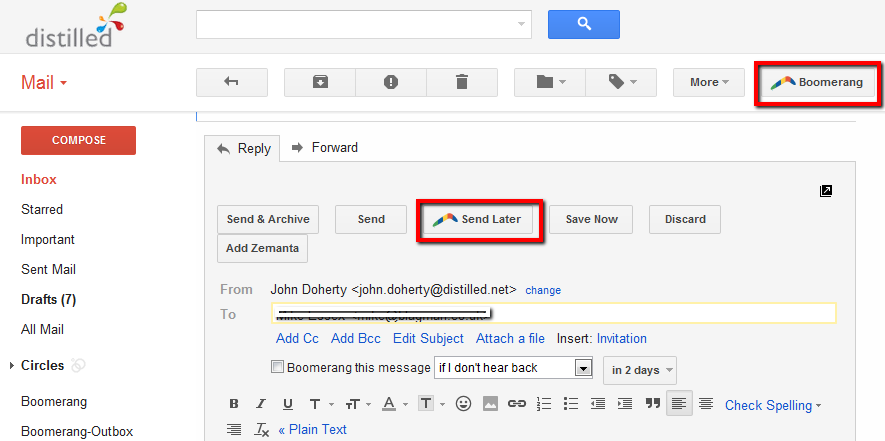 how to delete an email you already sent on gmail