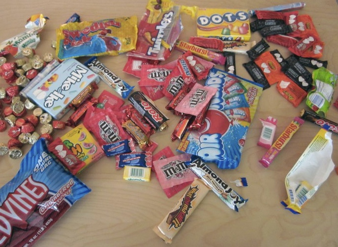Candy stash at SEOmoz