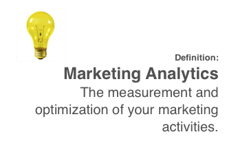 definition of marketing analytics