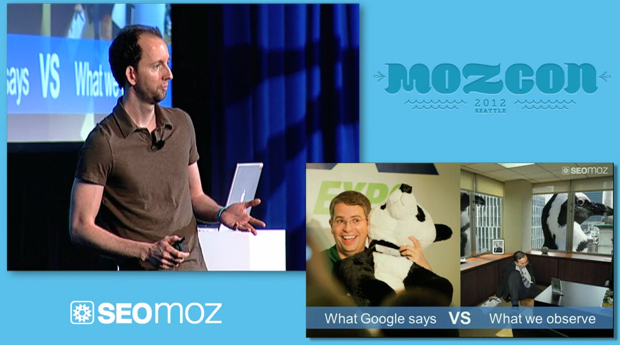 Dr Pete at MozCon 2012