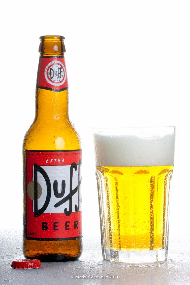Duff beer as example of inverse product placement
