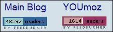 Feedburner stats for Blog and YOUmoz