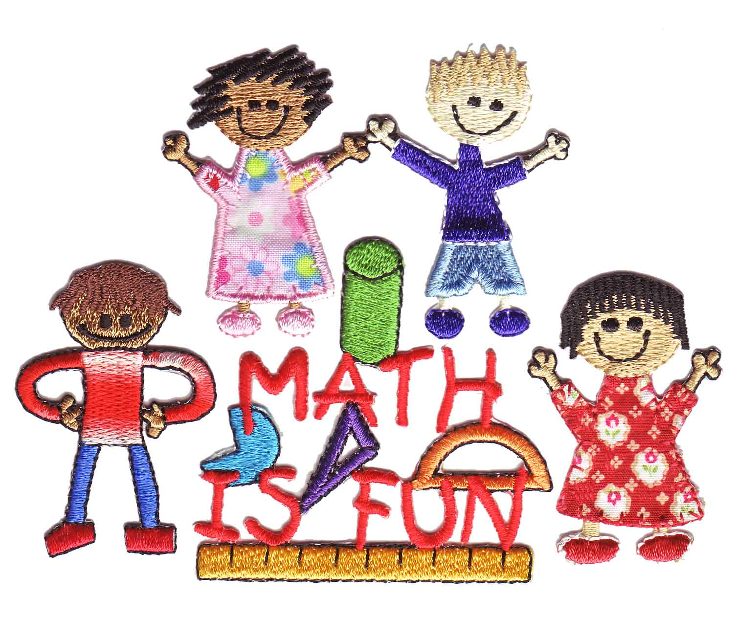 Math is Fun, so say these thread children