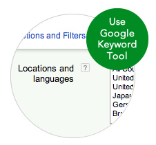 International Keyword Research with Google AdWords Keyword Tool