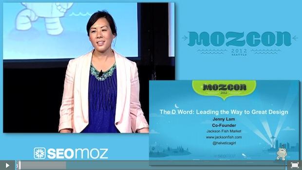 Jenny Lam at MozCon 2012