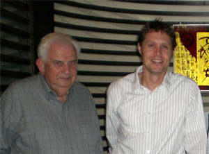 Si Fishkin (left) and Marshall Simmonds (right) in Xiamen, China