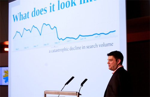 Martin MacDonald Speaking at SEO PRO Training London 2010