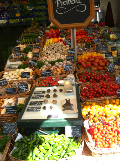 Farmer's Market Stand with Truffles