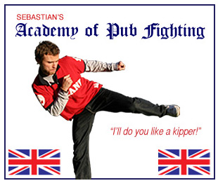 Pub Fighting Ad