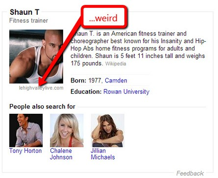 Shaun T Knowledge Graph Example