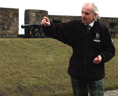 Stirling Castle Tourguide