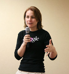 Vanessa Fox Talks to the Crowd at the BlogHer Conference