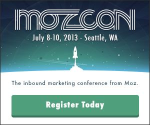 Buy Your MozCon ticket
