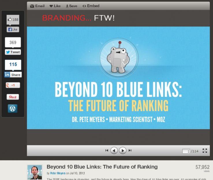 Beyond 10 blue Link