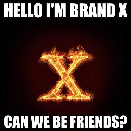 Hello, I'm Brand X!