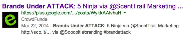 google authorship for brands