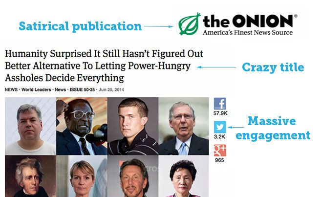 the onion - engagement