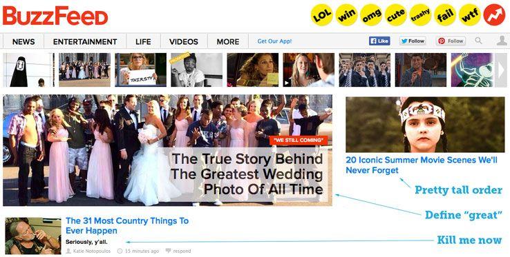 buzzfeed headlines