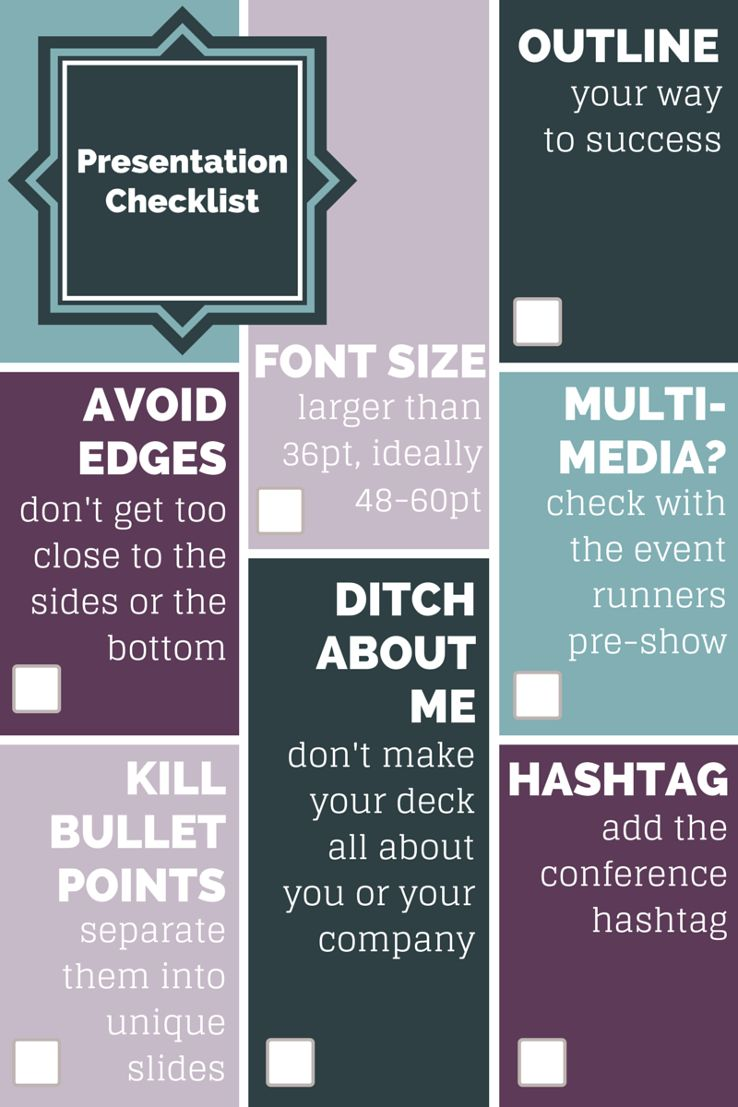 7 Dead Simple Ways to Improve Slide Decks Checklist