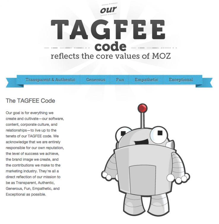 Moz TAGFEE code