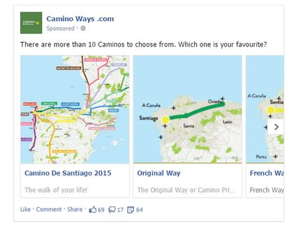 Camino Ways Mulit Product Ads
