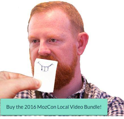 Buy the MozCon Local 2016 Video Bundle!