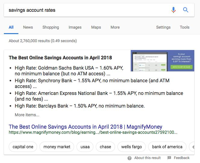Exploring Google s New Carousel Featured Snippet