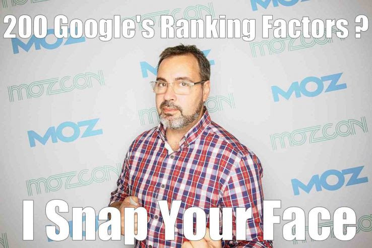 The Myth of Google's 200 Ranking Factors