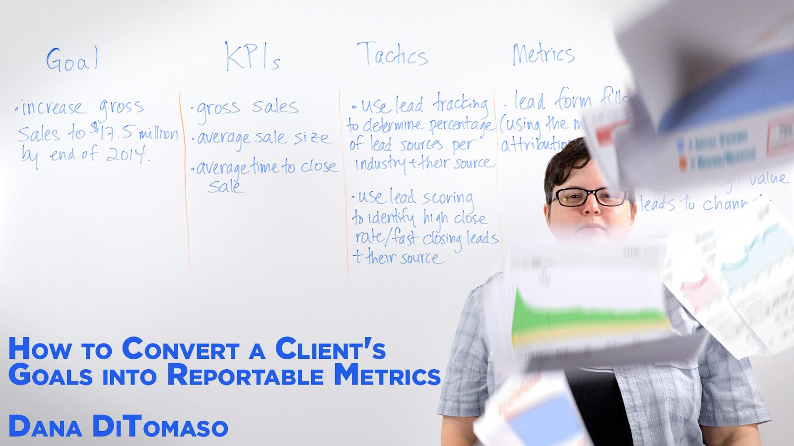 How to Convert a Client's Goals into Reportable Metrics - Whiteboard Friday