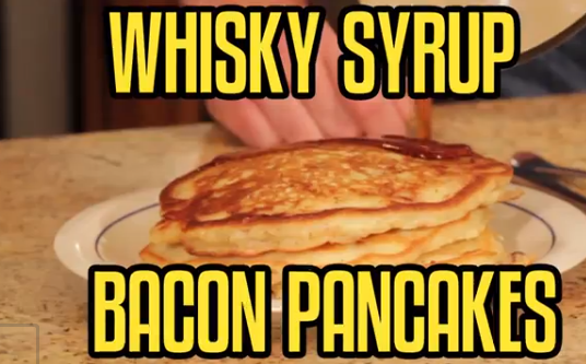 Whisky Syrup Pancakes