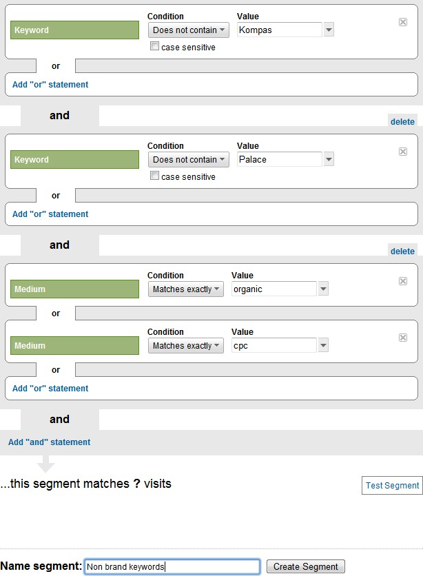 Guide to Setting up Advanced Segments in Google Analytics for