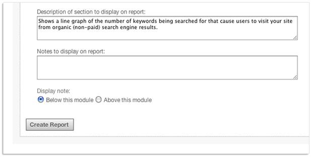 create custom PDF report