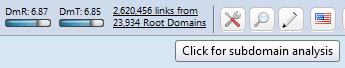 Link to Domain Metrics