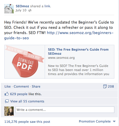 Facebook Promoted Posts vs Sponsored Stories - Moz