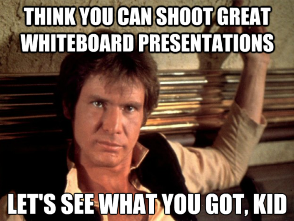 Funny Thank You For Listening Meme : Tips for filming whiteboard presentations moz