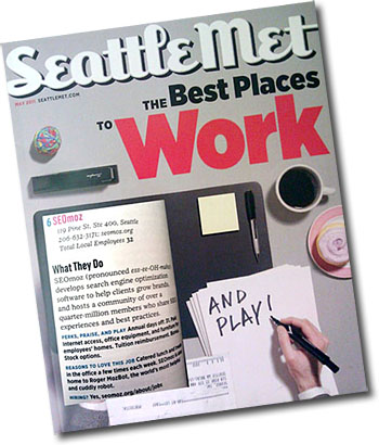 Seattle Met: Best Places to Work