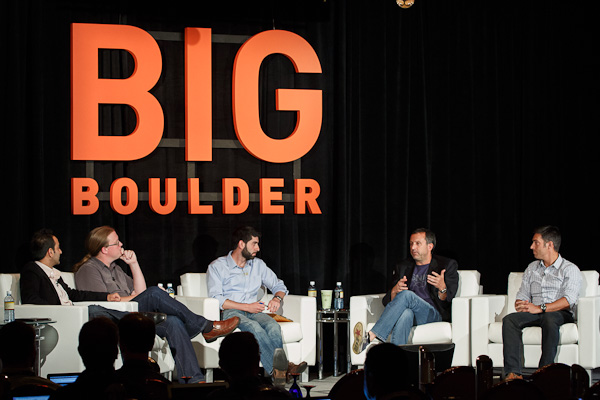 Panel Discussion at Big Boulder
