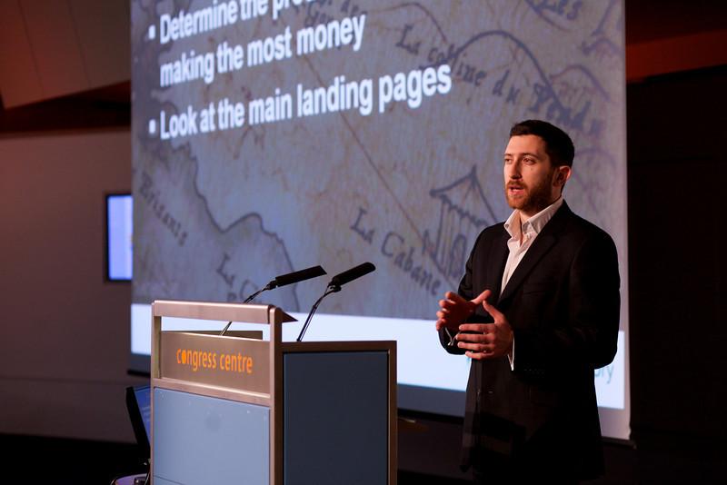 Conversion rate expert Stephen Pavlovich