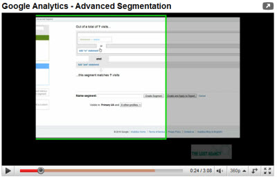 Advanced Segmentation Video