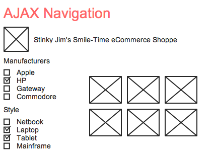 ajax navigation example