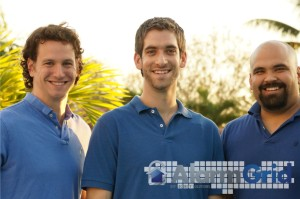 Alarm Grid's Executive Team - from L to R: Eric, Sterling, Joshua (me)