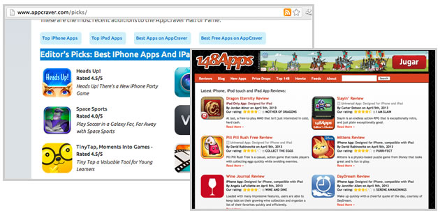 App Blogs, Communities & Directories